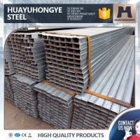 hot sales production DIN 2394 galvanized square steel pipe