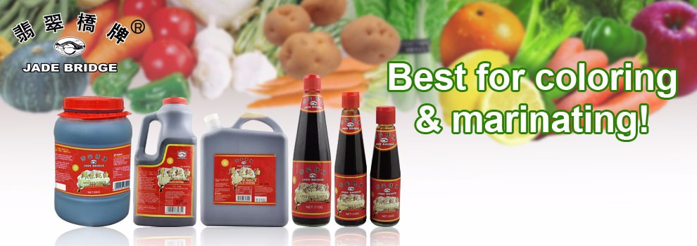 Fresh oyster sauce supermarket store