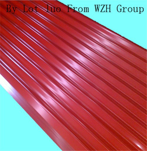 0.17~0.8mm Prime Quality Color Coating Galvanised Steel Sheet