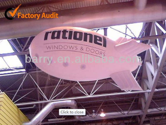 2013 new inflatable blimp, airship for advertising rental