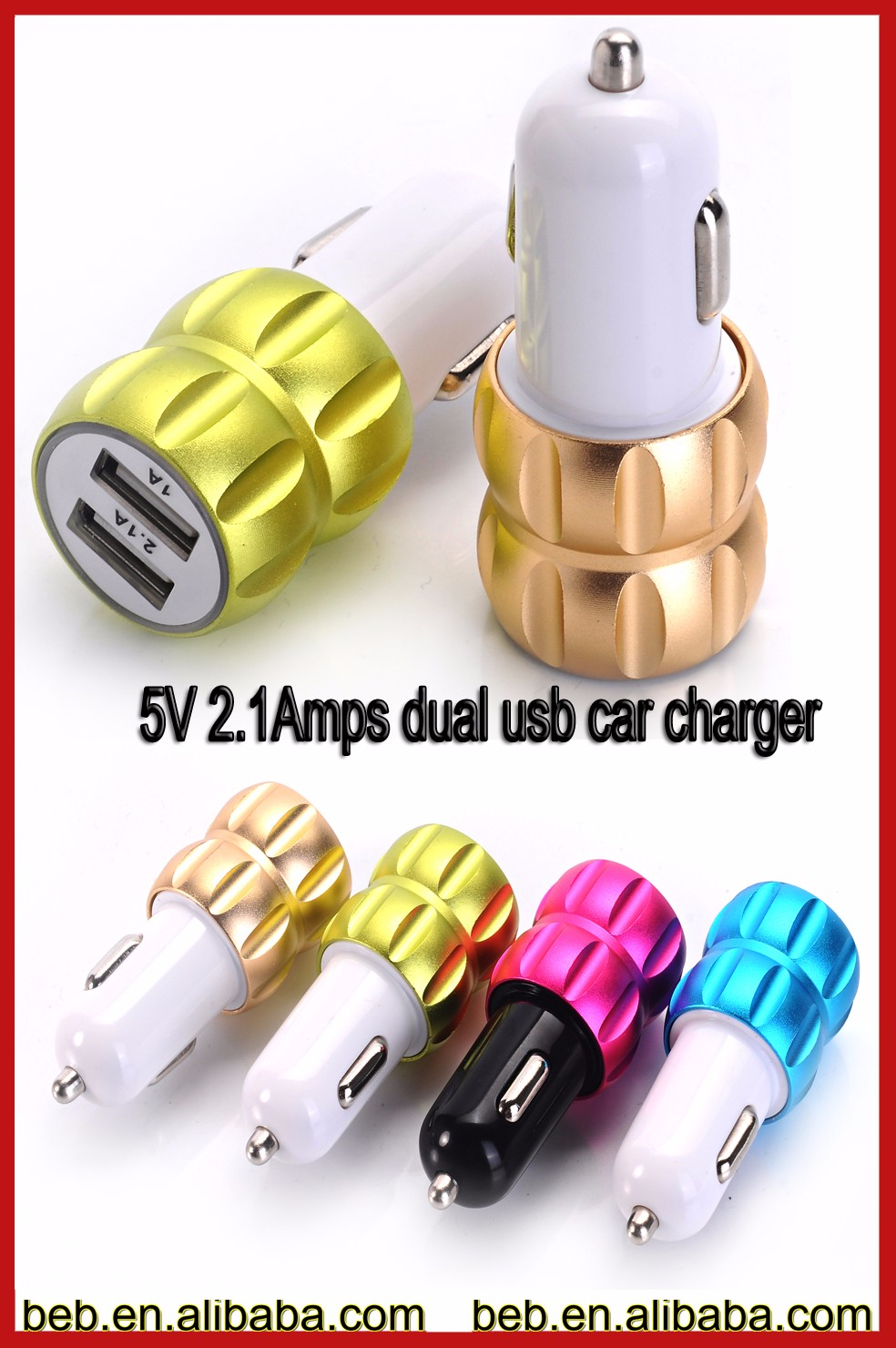 Wholesale micro usb car charger for iphone 6s iphone 5s micro car charger