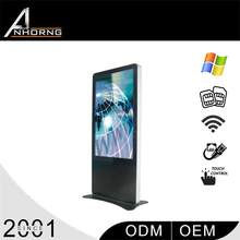 High Quality Big Size PC Slim Floor Bus Lcd Advertising Player Digital Signage Stand Lcd Monitor
