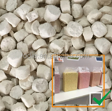 natural beancurd cat litter / tofu cat sand with light weight and toilet friendly