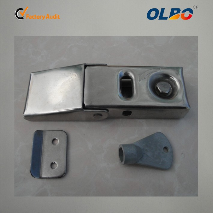 China made stainless steel mail box hasp and staple DK-606