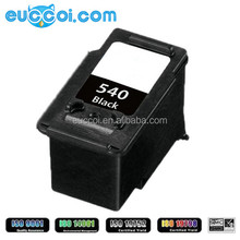 hot sale conpatible ink PG-540XL BK CL-541XL C M Y quality renewable inkjet box for canon Pixma MG2250, MX435 ink cartridge