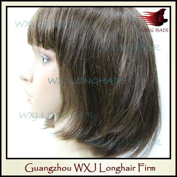 Guangzhou hot selling Virgin Brazilian Human Hair Full Lace Wig Wigs