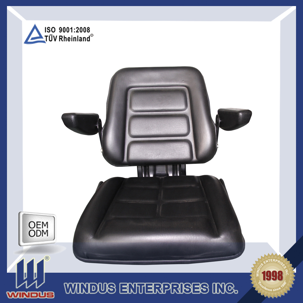 forklift seat cushion car leather seat cover