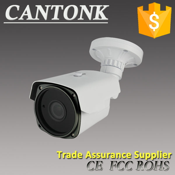 4 megapixel High resolution bullet P2P IP camera WDR, Internal POE Water resistance CCTV network surveillance camera