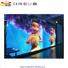 Shenzhen cheap high quality indoor p6 led display panel double sided led screen tv