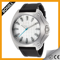 Fashion straps mens rubber watch wristband interchangeable watch face