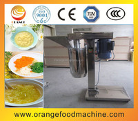 Garlic paste making machines on fruit and vegetable processing machines