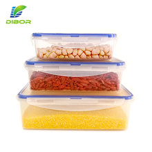Insulated reusable storage box microwave safe airtight meal prep plastic food container with easy lock lid