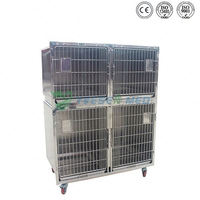 Pet shop use well designed animal show dog kennel cage