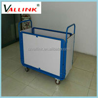 Flat Platform Foldable Steel Rail Trolley For Sale