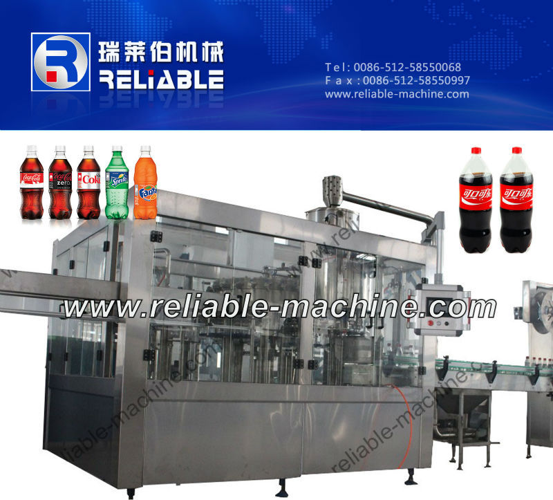CGFD Series Soda Balance Pressure Filler/Filling Machine