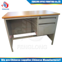 Hot sale Modern wooden top office computer table/desk made in luoyng