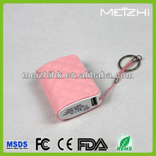 Mini lipstick keychain wallet mobile phone power bank perfume flavor