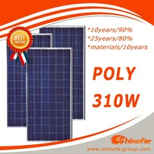 solar panel 380v poly 310w without rolling solar panel