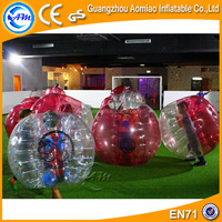 Great logo printing half color body bubble ball / human bubble ball for sale