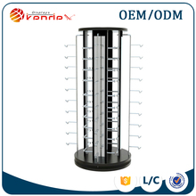 floor stand round rotating metal eyeglass display stand showing rack suppliers