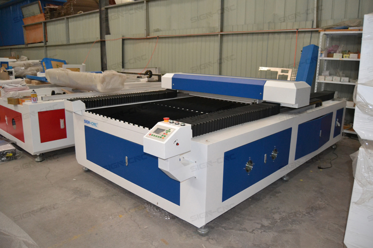 CO2 laser 1325 1530 big size cutting machine RECI 150W/280W