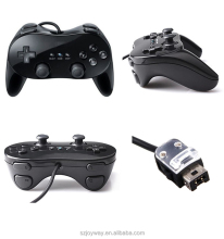 for Nintendo Wii pro Wired Game Controller Gamepad Joystick Controller black