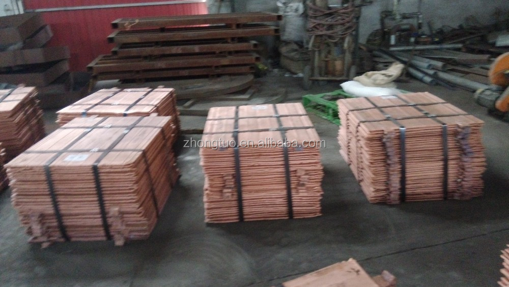 BEST QUALITY COPPER CATHOD High sale Copper Cathode 99.99% factory price (electrolytic grade A)