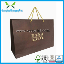 Custom Design Logo Printed Luxury Paper Gift Bag With Handle, Cheap Kraft Paper Bag Packaging Wholesale