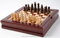 6 in 1 good quality wooden chess game set