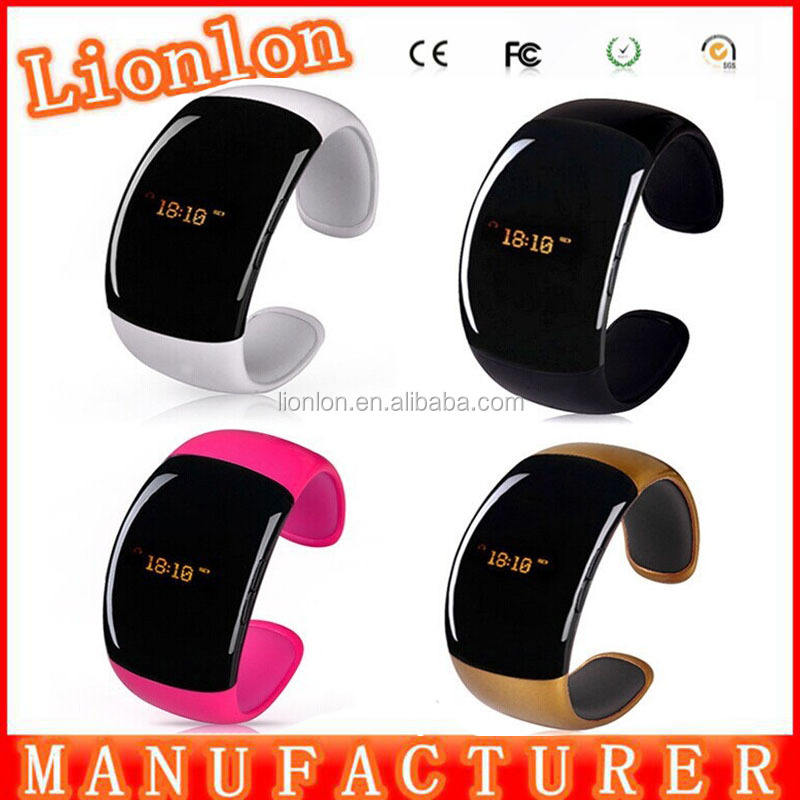 New Bluetooth Bracelet Watch caller ID display anti-lose answer hang up call music player For Smart Phone smartwatch smart watch