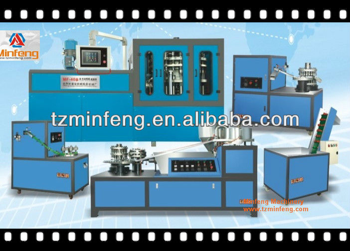 16 Cavities Hydraulic Cap Compression molding machine for 38mm