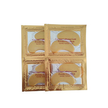 Remove dark circle remove eye bags Crystal Collagen gold Eye Mask 24K gold eye mask
