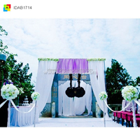 Electric Stage Curtain/Theater Curtain /Backdrops Drapery For Wedding