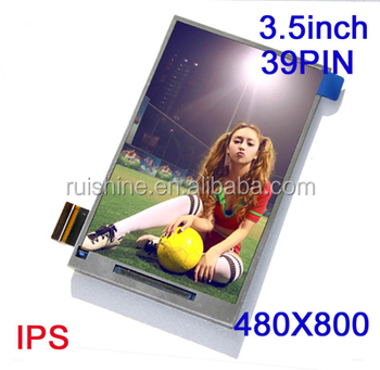 IPS Full color 3.5' TFT lcd screen for digital camera