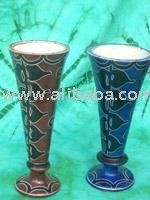 Vases with Vine Pattern
