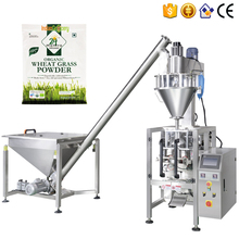 Automatic 1kg wheat grass powder bag packaging machine