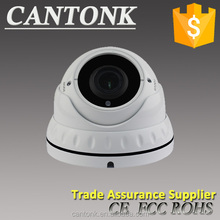Back illuminated CMOS Security Cameras Full HD 1080P Manual Zoom TVI Dome Camera