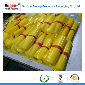 Antirust efficient VCI plastic LDPE flat bag