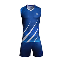 Wholesale China OEM service sublimation volleyball team jerseys
