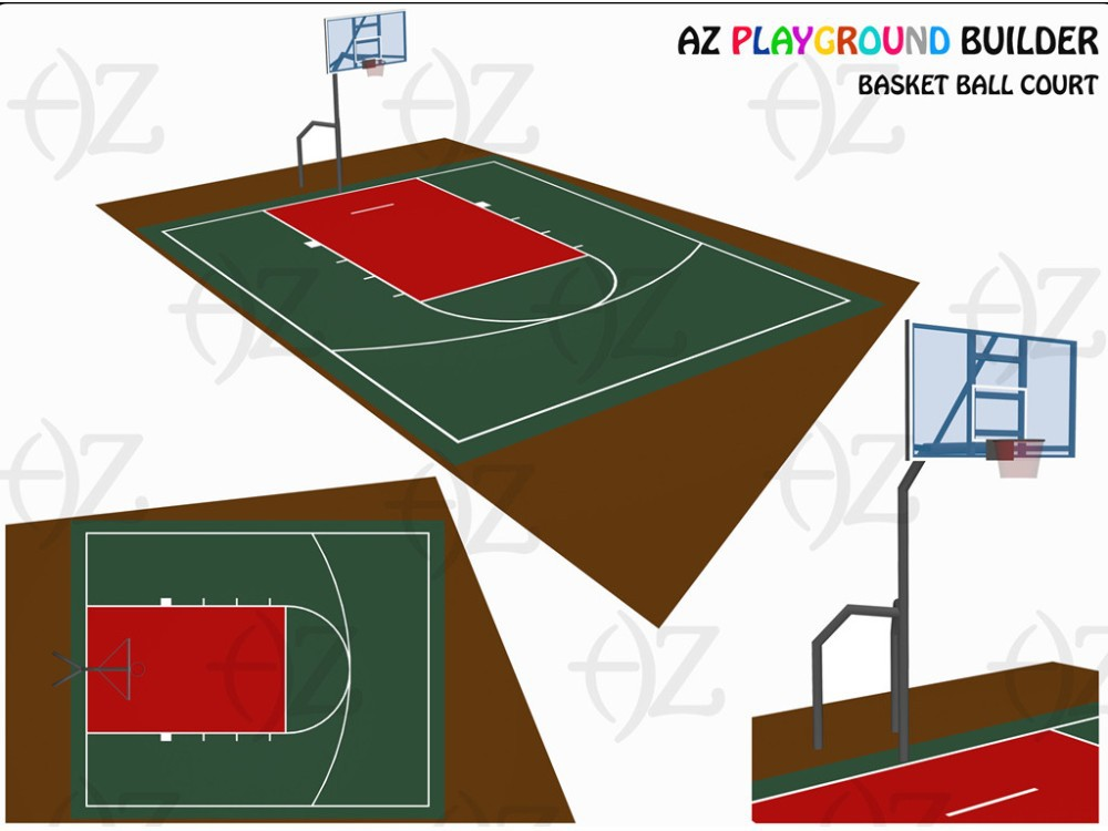 Basketball Court - Indoor / Ourdoor