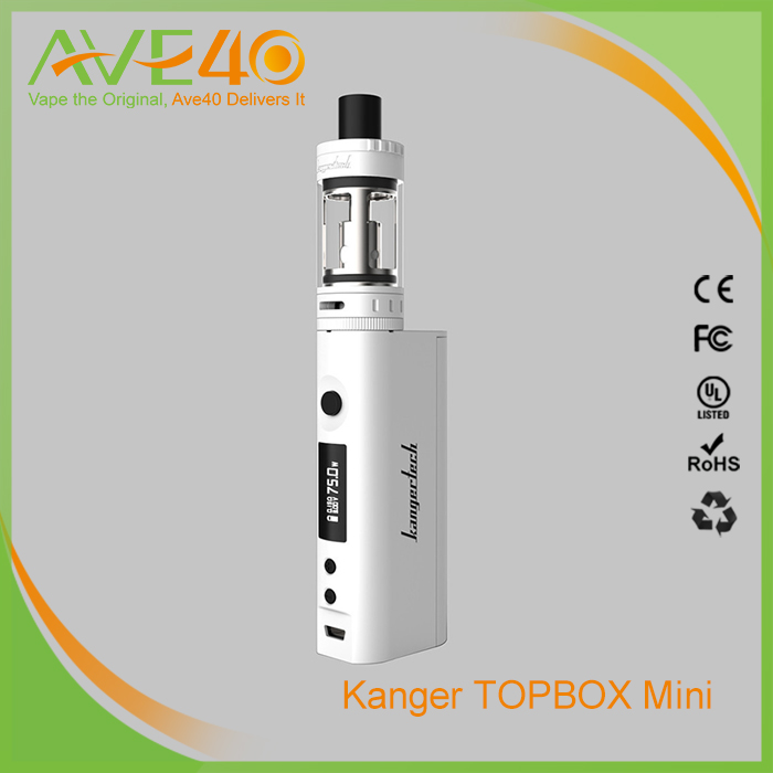 AVE40 Supply 2016 Newest Kangertech SUBOX Mini Pro 75W TC Starter Kit ! 100% Genuine Kanger Topbox mini