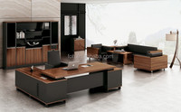 Elegant Modern Office Table Design/Solid Surface CEO Executive Desk(FOH-HMC281)