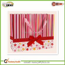 Custom Printed Valentine's Day Shoping Paper Bags Wholesale
