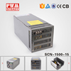 SCN-1500-15 ac to dc 1500W switching power supply 100 amp