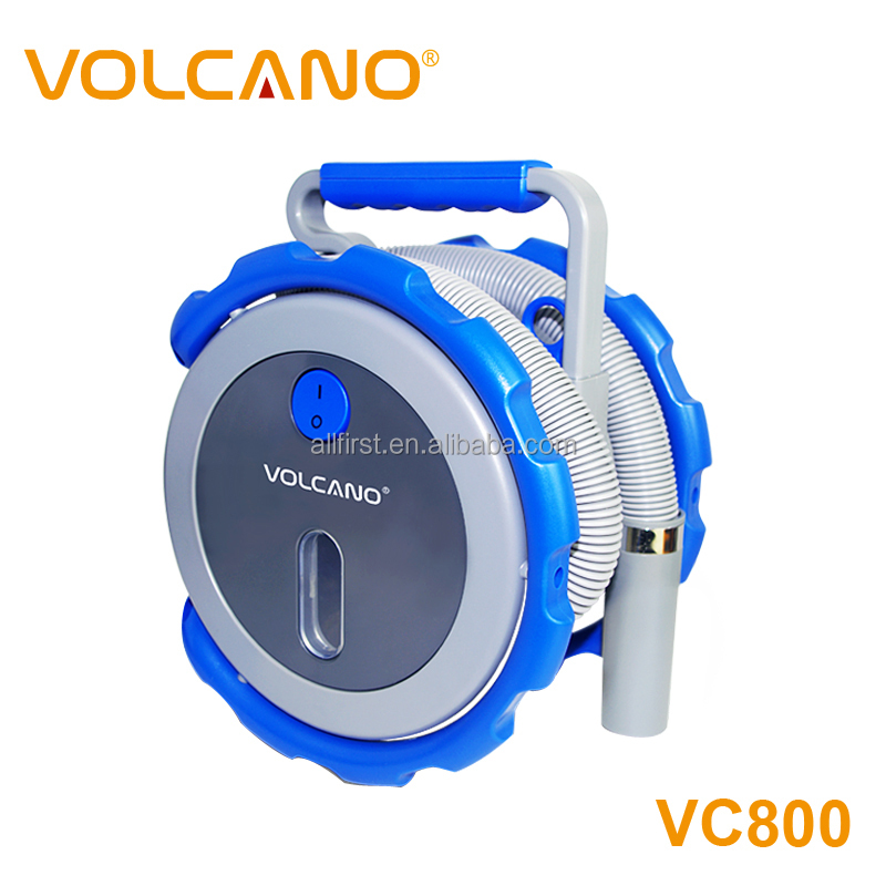 Portable volcano car vacuum cleaner 12V wet and dry vacuum cleaner for car
