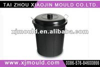 plastic pail with cover mould,injection plastic pail with cover mold/mould