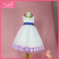 Girls puffy dresses for kids, dresses for girls, flower dresses for girl of 1-9 years old