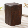 Advanced tongmu teapot simplicity and retro design wooden tea packing box