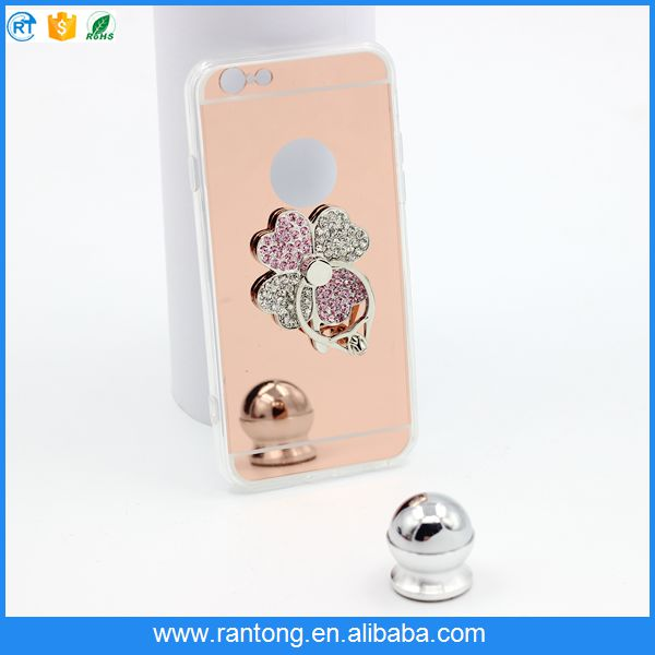 Factory sale top quality armor kickstand cell phone case from manufacturer
