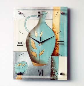 Unique Art Painting Wall Clock for Home Decor